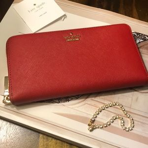 Kate Spade Red wallet.